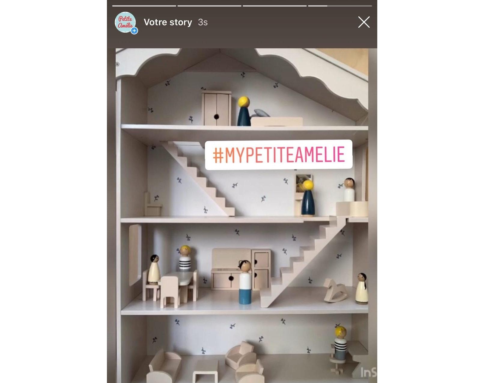 Erstelle deine eigene Puppenhaus Story mit INSHOT- Schritt 4
