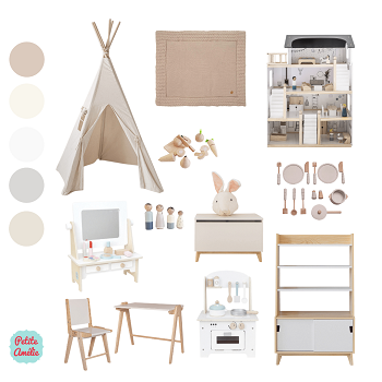 Moodboard Holzspielzeuge